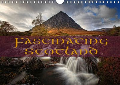 Fascinating Scotland / UK-Version (Wall Calendar 2019 DIN A4 Landscape), Martina Cross