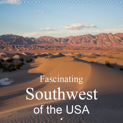 Fascinating Southwest of the USA (Wall Calendar 2019 300 × 300 mm Square), Andrea Potratz