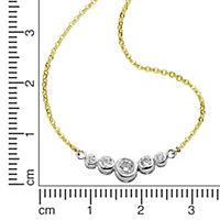 Fascination by Ellen K. Collier 333/- Gold bicolor Zirkonia - Produktdetailbild 1
