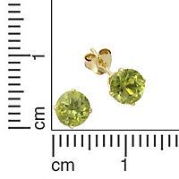 Fascination by Ellen K. Ohrstecker 333/- Gelbgold Peridot - Produktdetailbild 1