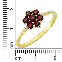 Fascination by Ellen K. Ring 333/- Gelbgold Granat (Größe: 052 (16,6)) - Produktdetailbild 1