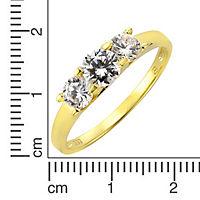 Fascination by Ellen K. Ring 333/- Gelbgold Zirkonia (Größe: 058 (18,5)) - Produktdetailbild 1
