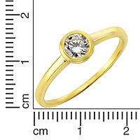 Fascination by Ellen K. Ring 333/- Gelbgold Zirkonia (Größe: 052 (16,6)) - Produktdetailbild 1