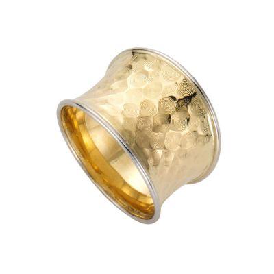 Fascination by Ellen K. Ring 333/- Gold bicolor diamantiert (Größe: 017 (53,5))