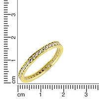Fascination by Ellen K. Ring 375/- Gelbgold Zirkonia (Größe: 058 (18,5)) - Produktdetailbild 1
