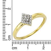 Fascination by Ellen K. Ring 375/- Gelbgold Zirkonia (Größe: 016 (50,5)) - Produktdetailbild 1