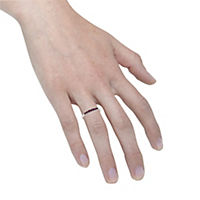 Fascination by Ellen K. Ring 375/- Weißgold Rubin (Größe: 060 (19,1)) - Produktdetailbild 2