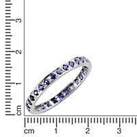 Fascination by Ellen K. Ring 375/- Weißgold Safir blau (Größe: 016 (50,5)) - Produktdetailbild 1