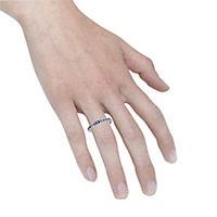 Fascination by Ellen K. Ring 375/- Weißgold Safir blau (Größe: 016 (50,5)) - Produktdetailbild 2