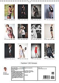 Fashion / UK-Version (Wall Calendar 2019 DIN A3 Portrait) - Produktdetailbild 13