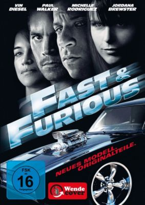 Fast and Furious - Neues Modell. Originalteile., Paul Walker,Jordana Brewster Vin Diesel
