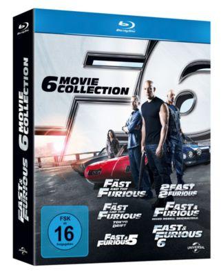 Fast & Furious 1-6 Box, Ken Li, Gary Scott Thompson, Erik Bergquist, David Ayer, Michael Brandt, Derek Haas, Chris Morgan