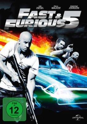 Fast & Furious 5, Paul Walker,Dwayne Johnson Vin Diesel