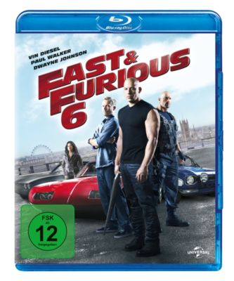 Fast & Furious 6, Paul Walker,Dwayne Johnson Vin Diesel