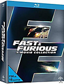 Fast & Furious - 7 Movie Collection Bluray Box