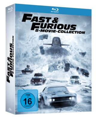 Fast & Furious - 8-Movie-Collection, Ken Li, Gary Scott Thompson, Erik Bergquist, David Ayer, Michael Brandt, Derek Haas, Chris Morgan