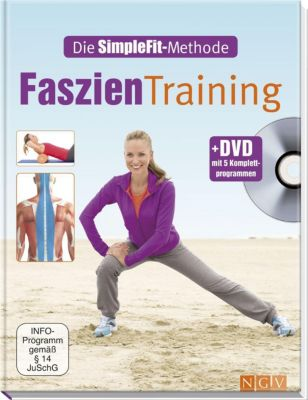 Faszien-Training + 1 DVD mit 5 Komplettprogrammen, Susann Hempel