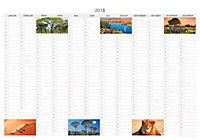 Faszination Afrika Premiumkal. 2018 - Produktdetailbild 14