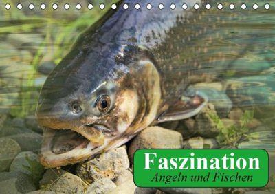 Faszination Angeln und Fischen (Tischkalender 2019 DIN A5 quer), Elisabeth Stanzer
