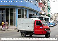 Faszination Dreirad - Kleintransporter in Havanna (Tischkalender 2019 DIN A5 quer) - Produktdetailbild 1