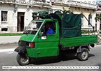 Faszination Dreirad - Kleintransporter in Havanna (Tischkalender 2019 DIN A5 quer) - Produktdetailbild 2