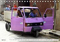 Faszination Dreirad - Kleintransporter in Havanna (Tischkalender 2019 DIN A5 quer) - Produktdetailbild 4