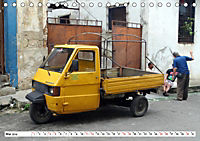 Faszination Dreirad - Kleintransporter in Havanna (Tischkalender 2019 DIN A5 quer) - Produktdetailbild 5