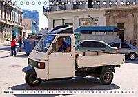 Faszination Dreirad - Kleintransporter in Havanna (Tischkalender 2019 DIN A5 quer) - Produktdetailbild 3