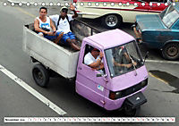 Faszination Dreirad - Kleintransporter in Havanna (Tischkalender 2019 DIN A5 quer) - Produktdetailbild 11
