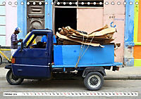 Faszination Dreirad - Kleintransporter in Havanna (Tischkalender 2019 DIN A5 quer) - Produktdetailbild 10