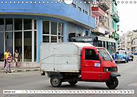 Faszination Dreirad - Kleintransporter in Havanna (Wandkalender 2019 DIN A4 quer) - Produktdetailbild 1