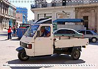 Faszination Dreirad - Kleintransporter in Havanna (Wandkalender 2019 DIN A4 quer) - Produktdetailbild 3