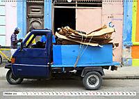 Faszination Dreirad - Kleintransporter in Havanna (Wandkalender 2019 DIN A2 quer) - Produktdetailbild 10