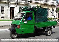 Faszination Dreirad - Kleintransporter in Havanna (Wandkalender 2019 DIN A2 quer) - Produktdetailbild 2