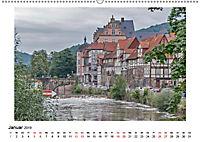 Faszination Fachwerk - an Weser und Ilme (Wandkalender 2019 DIN A2 quer) - Produktdetailbild 1
