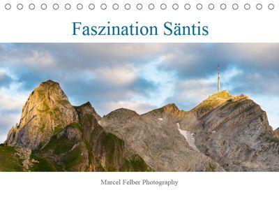 Faszination SäntisCH-Version (Tischkalender 2019 DIN A5 quer), Marcel Felber