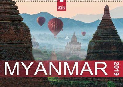 FASZINIERENDES MYANMAR (Wandkalender 2019 DIN A2 quer), Asia Insight