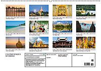 FASZINIERENDES MYANMAR (Wandkalender 2019 DIN A2 quer) - Produktdetailbild 1