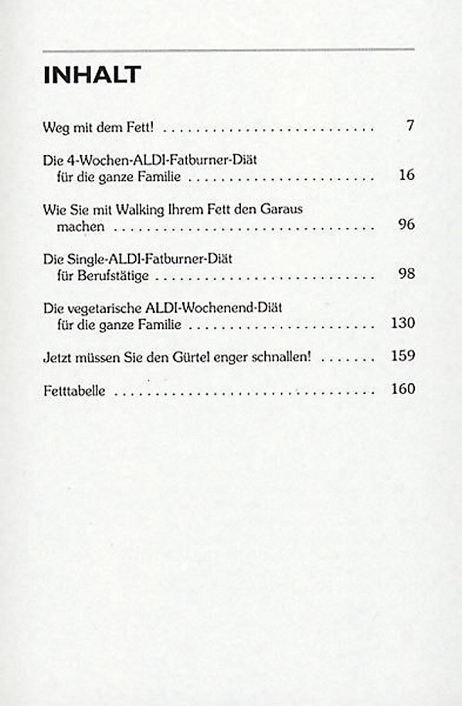 Fatburner Die 100 Besten Aldi Rezepte Buch Weltbild De