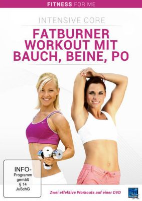 Fatburner Workout mit Bauch, Beine, Po Intensive Core