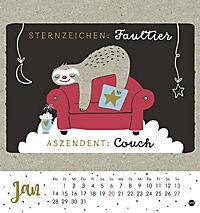 Faultier Postkartenkalender - Kalender 2019 - Produktdetailbild 1