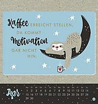 Faultier Postkartenkalender - Kalender 2019 - Produktdetailbild 4