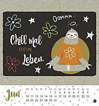 Faultier Postkartenkalender - Kalender 2019 - Produktdetailbild 6