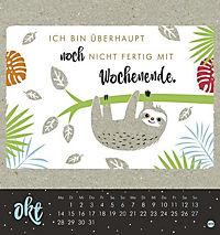 Faultier Postkartenkalender - Kalender 2019 - Produktdetailbild 10