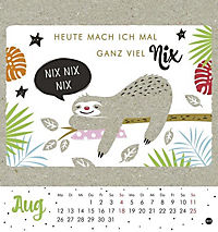 Faultier Postkartenkalender - Kalender 2019 - Produktdetailbild 8