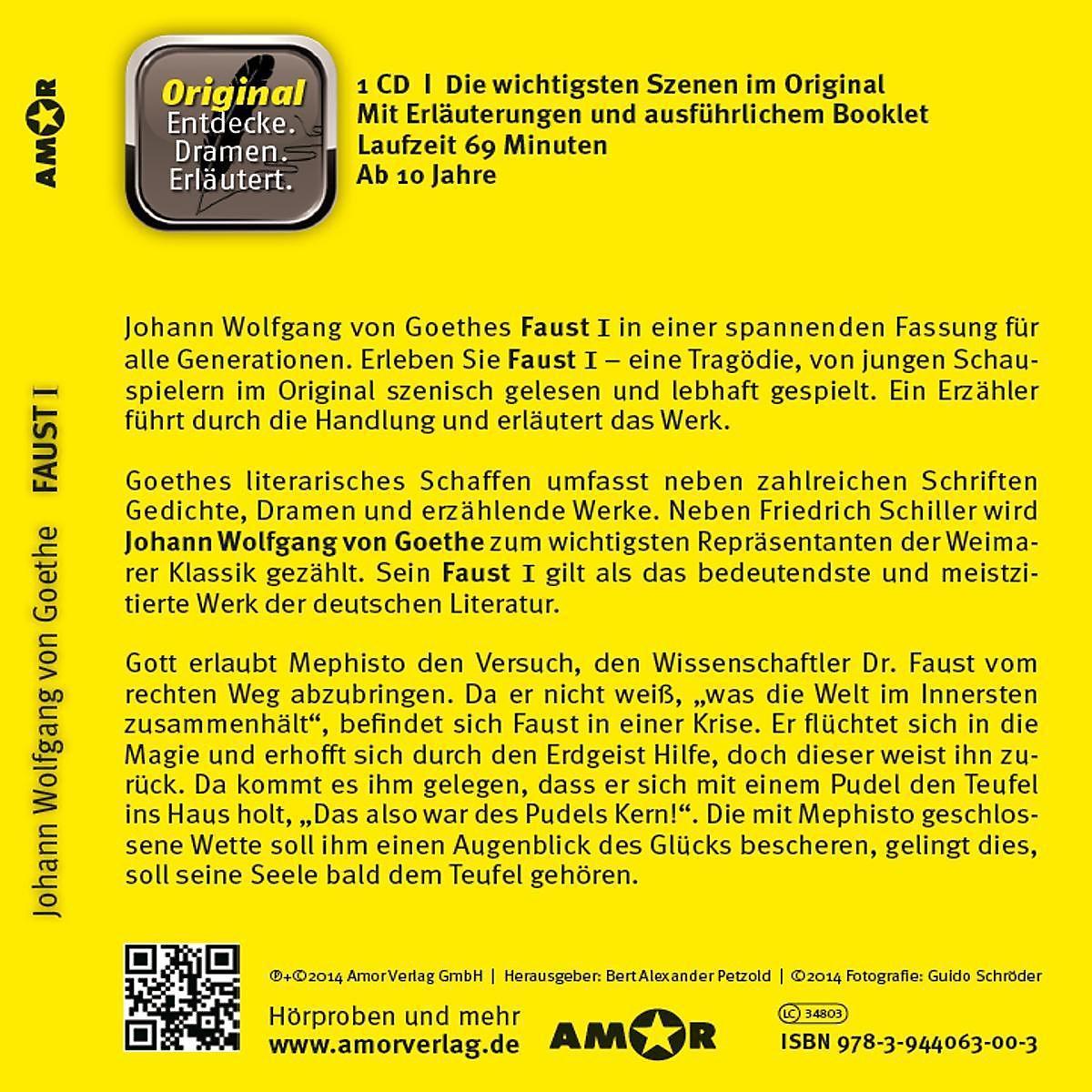 Faust 1 1 Audio Cd Hörbuch Günstig Bei Weltbildde Bestellen