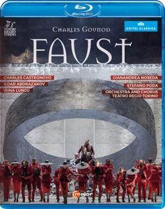 Faust, Castronovo, Abdrazakov, Noseda, Teatro Regio Torino