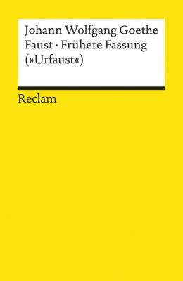 Faust - Frühere Fassung (
