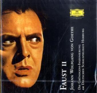 Faust II, 2 Audio-CDs, Johann Wolfgang von Goethe