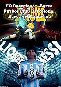 FC Barcelona – Barça Futbol Club Barcelona. Barça or Blaugrana